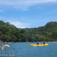 Kayak auf dem Pazifik