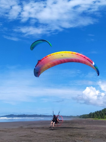 Costa Rica Strandlandung