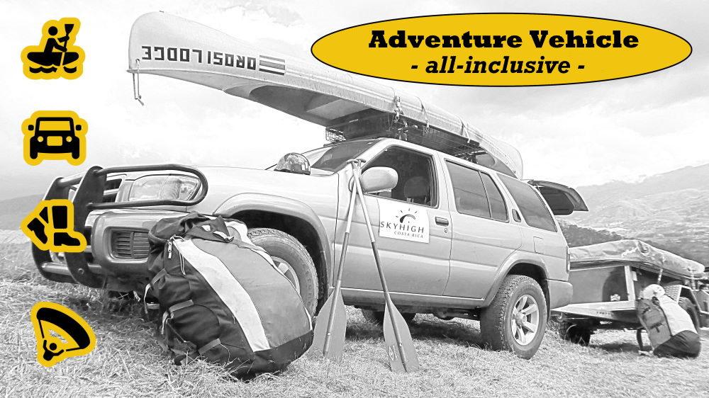 Adventure Vehicle all-inclusive