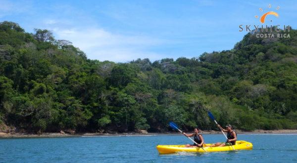 Kajak vor der Insel Tortuga